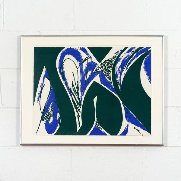 Lee Krasner, 'Free Space Blue', 1975, Caviar20