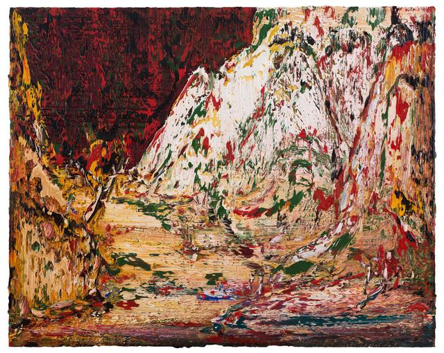, 'White mountain spring,' 2018, CFHILL