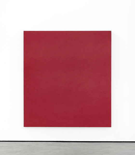 , 'Red Endless Painting,' 2013, Brian Gross Fine Art