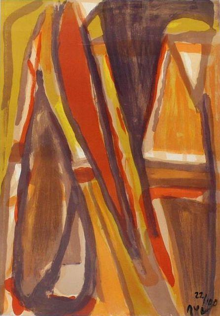 Bram van Velde, 'Eloignement', 1977, Le Coin des Arts