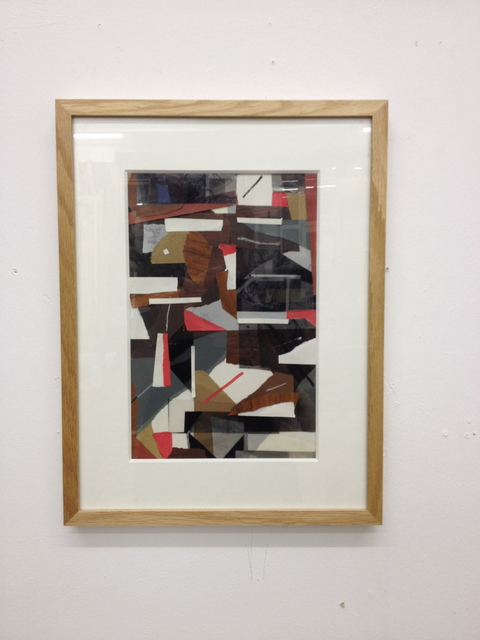 , 'Kleine Collage #1,' 2013, Gestalten