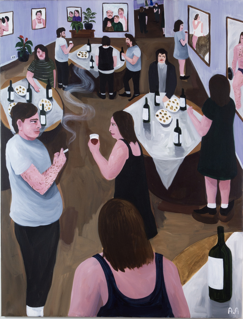 , 'It used to be burgers and beers,' 2018, Kristin Hjellegjerde Gallery