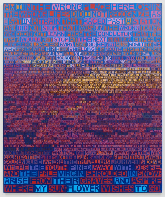 , 'Sunflower ,' 2016, Freight + Volume
