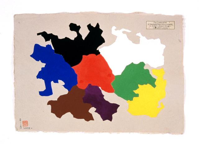 , 'The Coalescence of Separate Sites into a Location,' 2001, Estrada Fine Art