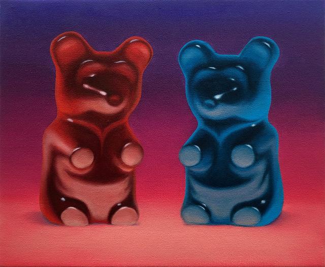, 'Purple Couple,' 2019, Gallery Poulsen