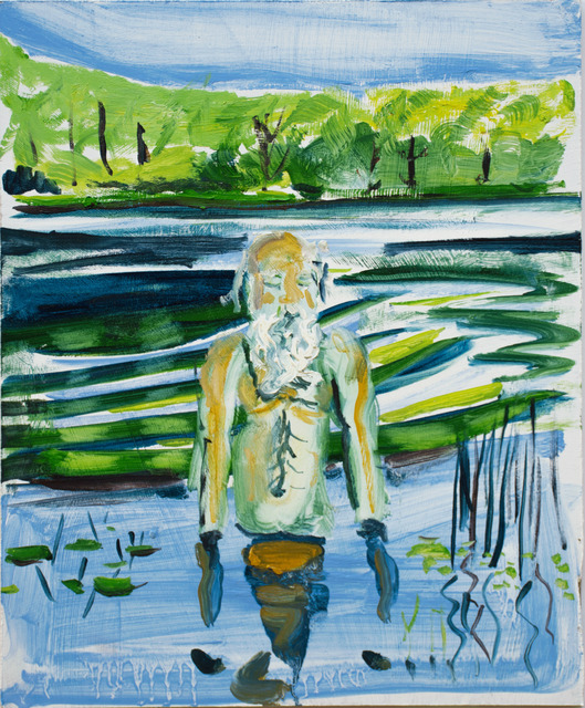 , 'Dad Horseleech Pond,' 2017, Gaa Gallery