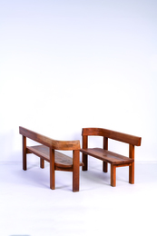 S35 bench in elm