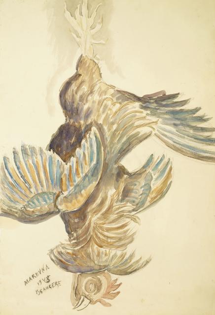 Marie Vorobieff Marevna, 'Hanging cockerel', Roseberys