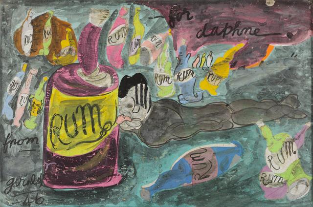 Gerald Wilde, 'Rum for Daphne', 1946, October Gallery