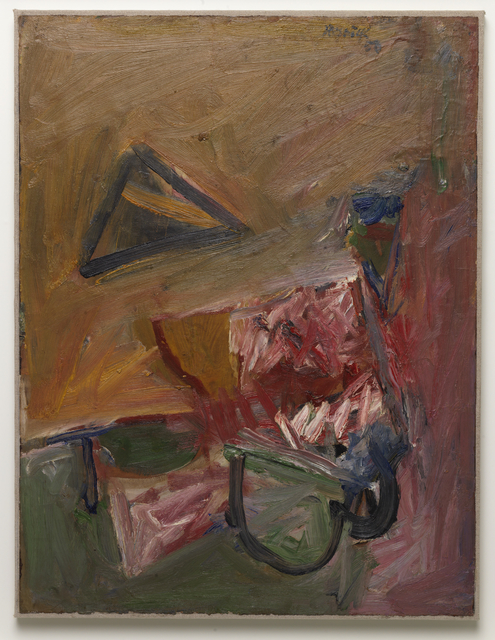 Milton Resnick, 'Hearts and Darts', 1957, Painting, Oil on board, The Milton Resnick and Pat Passlof Foundation