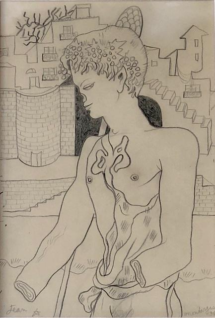 Jean Cocteau, 'L' Homme aux Mains et Nez Coupés', 1938, MICHALI GALLERY