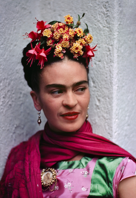 , 'Frida in pink/green blouse,' 1938, PDNB Gallery