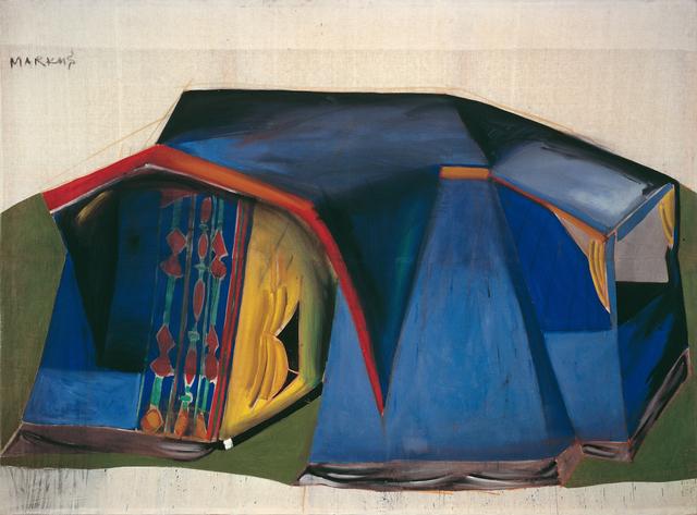 """, '""""Zelt – dithyrambisch (Tent - dithyrambic)"""",' 1965, Michael Werner Gallery"""