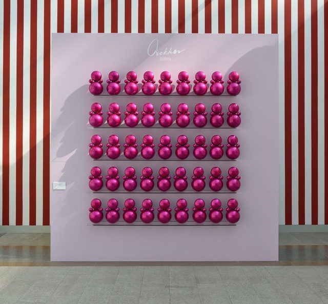 "Gregory Orekhov, 'Panel ""Agathas in pink ""', 2018, Orekhov Gallery"