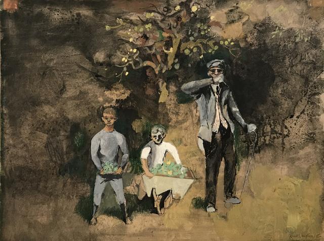 , 'An Orchard by the Railway,' 1945, Osborne Samuel