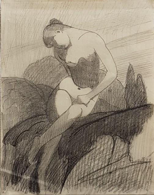 , 'Nu double face,' ca. 1940, Galerie Marie-Robin