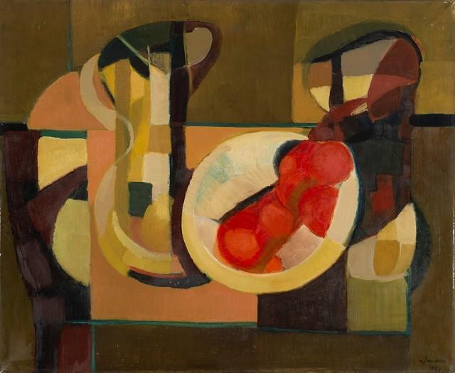 Giuseppe Ajmone, 'Natura morta', 1953, Painting, Oil on canvas, Finarte