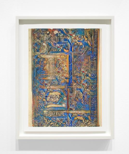 Jason Salavon, 'Narrative Frame (Illuminated Manuscripts 7)', 2019, Inman Gallery