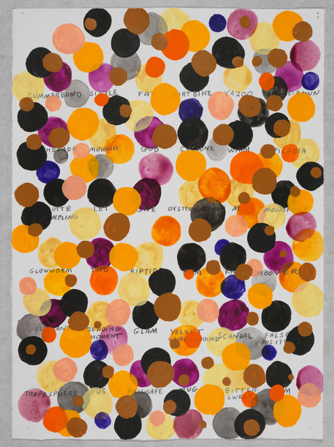 , 'Remembered Words—(Glowworm),' 2013, Galleria Raffaella Cortese