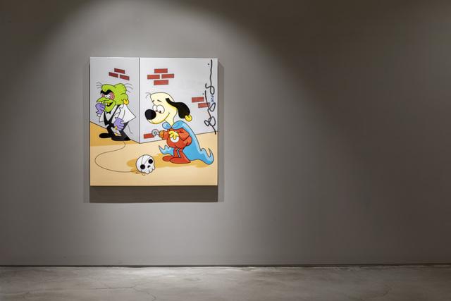 , 'underdog,' 2017, g.gallery