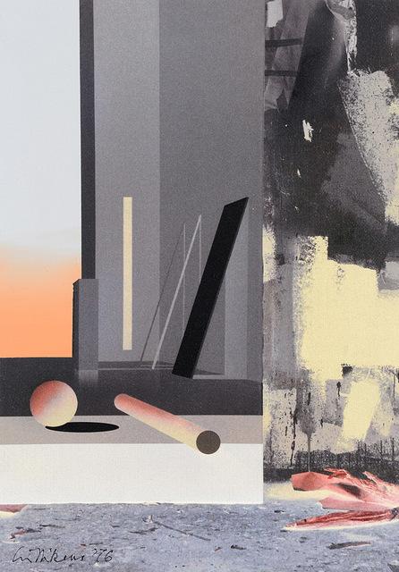 , 'Raum 1315 Floß (Atelier-Interieur),' 2016, Galerie Hans Mayer