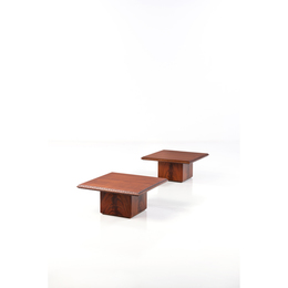Model 452.0; Pair of coffee tables