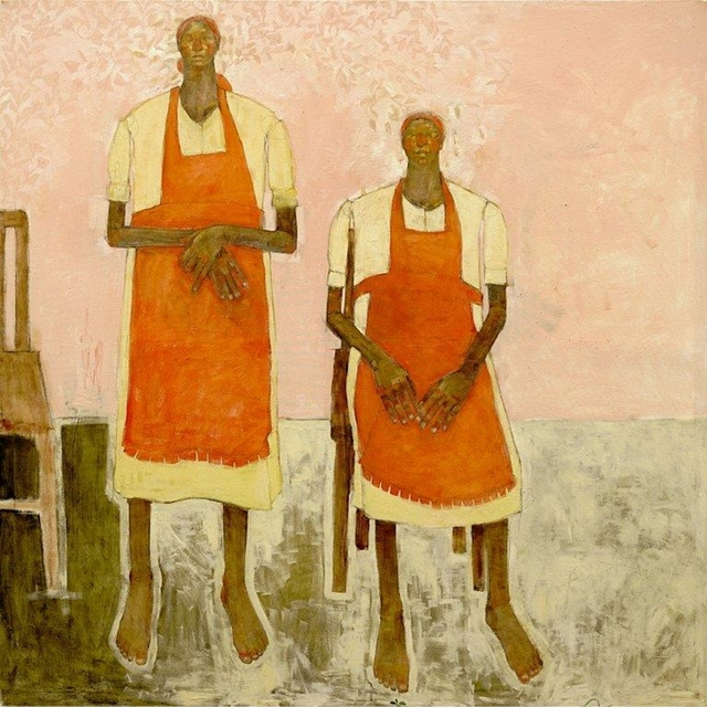, 'Two Maids,' 2019, One Off Contemporary Art Gallery