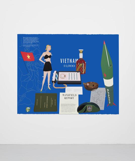 , 'Concerning Vietnam: Oval Office, October 1962,' 2018, Casey Kaplan