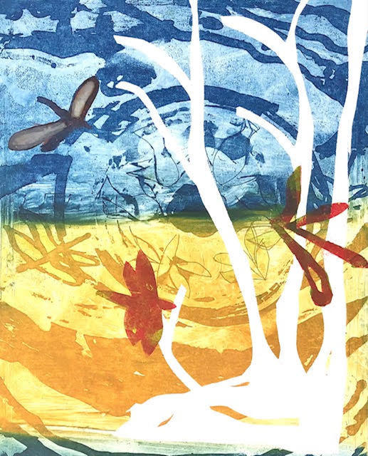 Jan Farrell, 'Enchanted Wood', 2021, Print, Etching on aluminium, Charbonnel ink, BFK Rives paper, Open Bite Printmakers