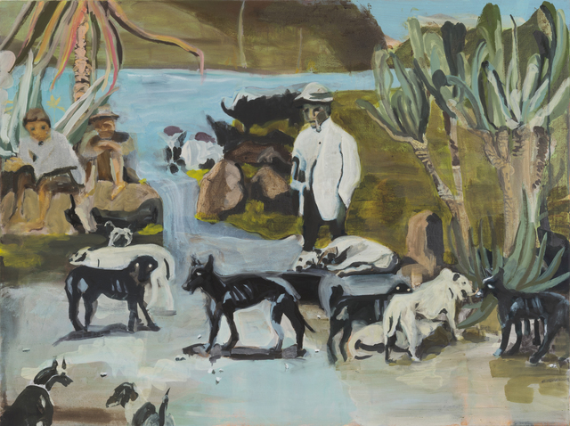 , 'Dog Beach,' 2016, Taymour Grahne Gallery
