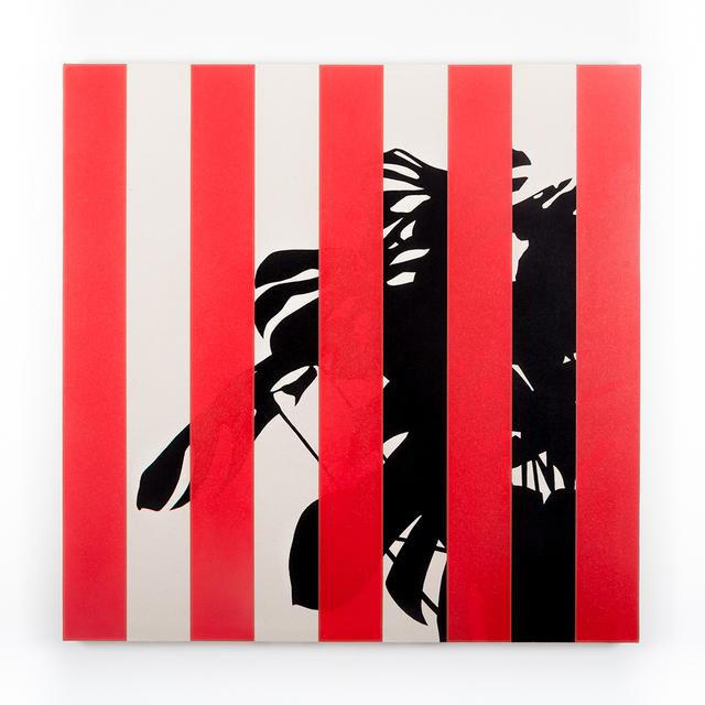 , 'Monstera Deliciosa (Red),' 2016, Instituto de Visión