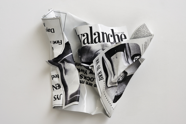 """, '""""Avalanche (There are many blocks)"""",' 2015, Wentrup"""