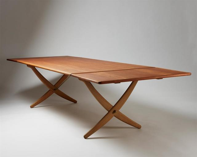 , 'Dining table 'Sabre leg',' ca. 1950, Modernity