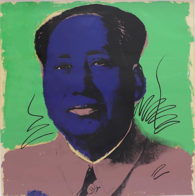 Andy Warhol, 'Mao (FS II.90)', 1972, Print, Screenpint on Beckett High White Paper, Revolver Gallery