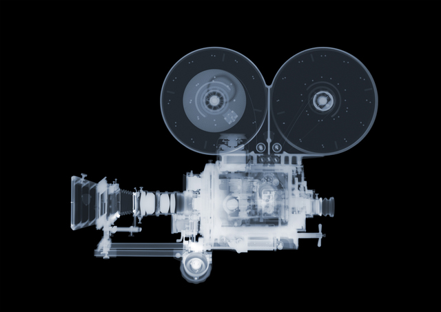 Nick Veasey, 'Mitchell Film Camera', 2014, Opiom Gallery