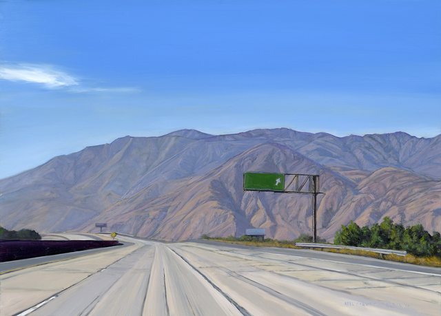 , 'Interstate 10, San Gorgonio Pass,' 2014, Sue Greenwood Fine Art