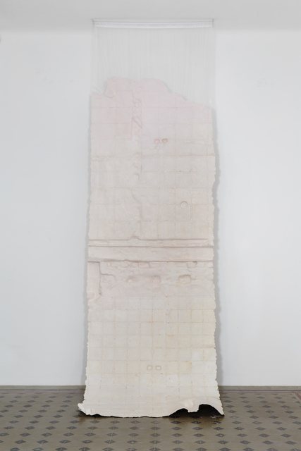 , 'Membrane (unbleached silk),' 2016, Galleria Raffaella Cortese