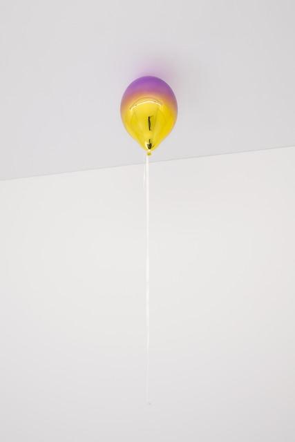 , 'Medium Purple and Medium Yellow Mirror Balloon,' 2019, KÖNIG GALERIE