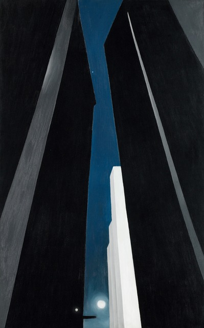 , 'City Night,' 1926, Norton Museum of Art