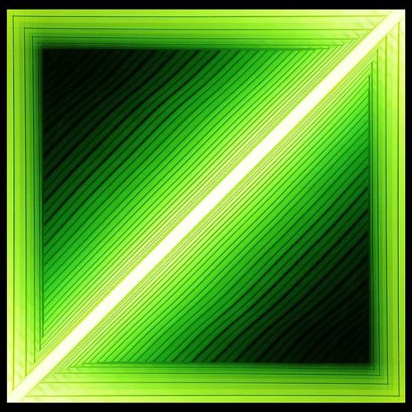 Chul-Hyun Ahn, 'Forked (Diagonal Green)', 2012, Bentley Gallery