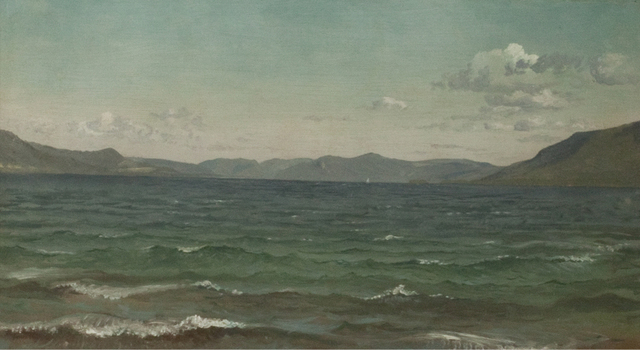 , 'Lake George,' , Questroyal Fine Art