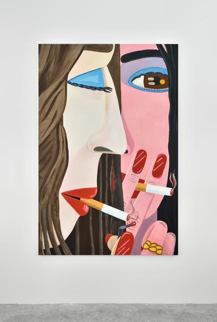 Brian Calvin, 'Another Smoke', 2015, Painting, Acrylic on canvas, Almine Rech