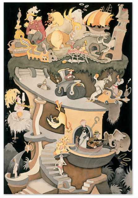 Dr. Seuss, 'Dr. Seuss, Tower of Babel', Oliver Cole Gallery