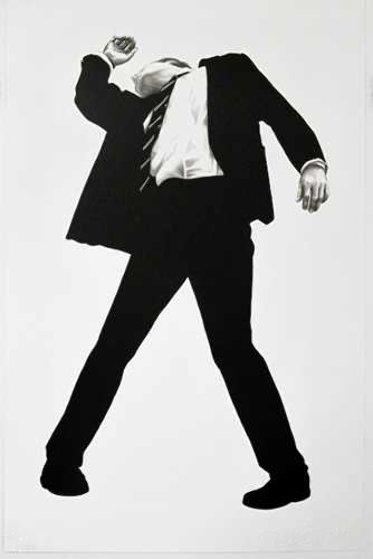 Robert Longo, 'Rick', 1994, Hamilton-Selway Fine Art