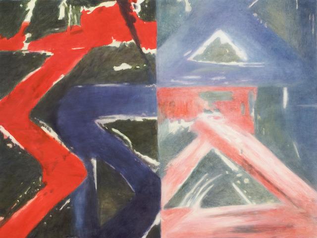 , 'Casual (reverse print),' 2009, Casey Kaplan