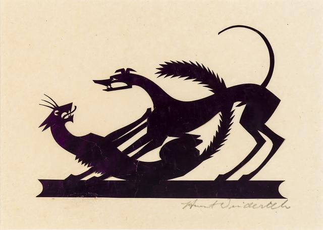 , 'Cat and Dog,' 1920s-1930s, Hirschl & Adler