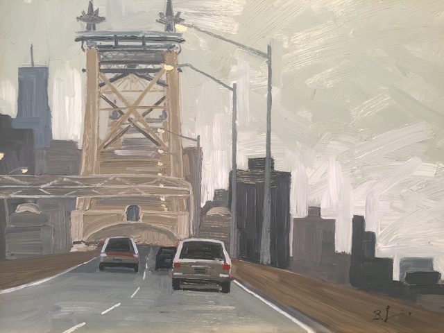 Benjamin Lussier, 'Over the Queensboro', 2017, Grenning Gallery