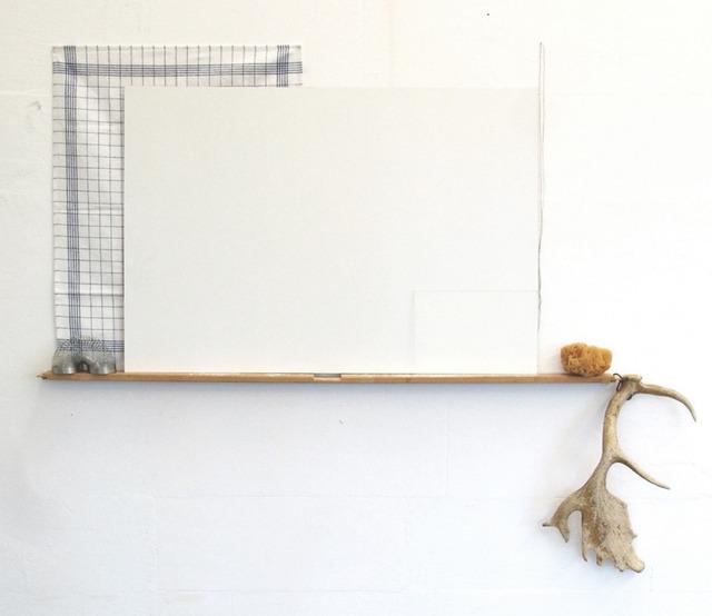 , 'Desenho com linhas, quadrados e uma espiral,' 2014, Vera Cortês