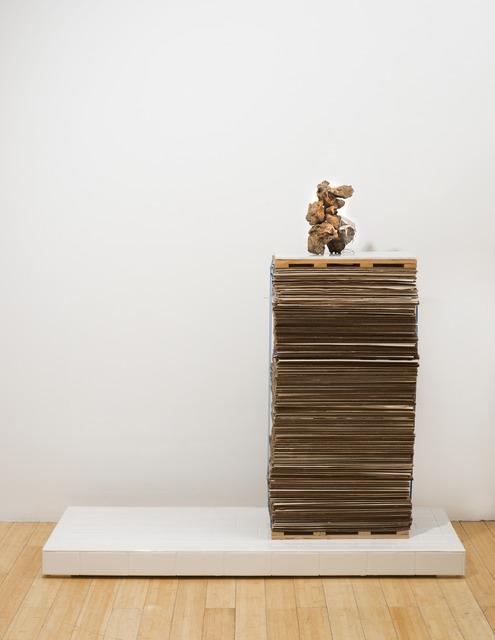 Virginia Poundstone, 'Flower Arrangement #9', 2013, Sculpture, Bronze and glass, KANSAS