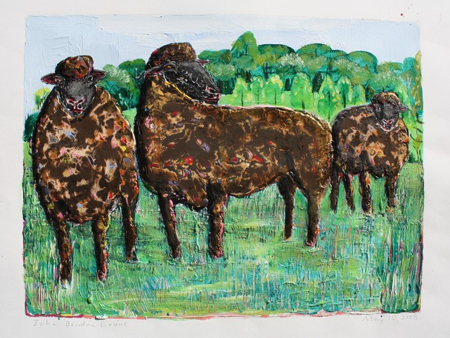 , 'Three Black Sheep  ,' 2018, Les Yeux du Monde Gallery